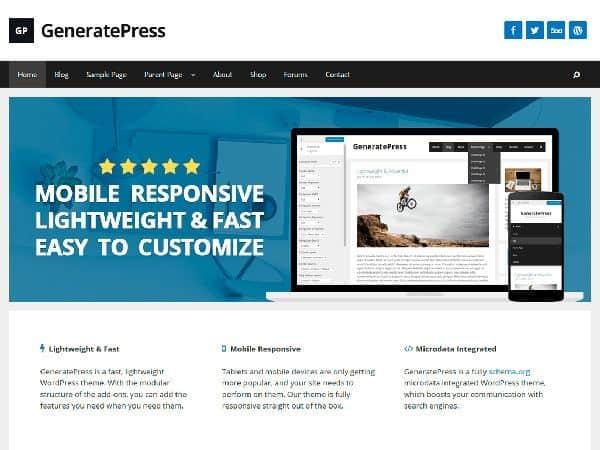 generatepress-tema-wordpress